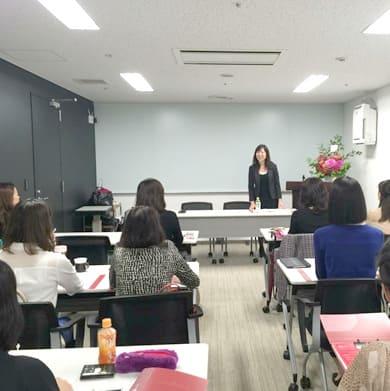 日本アンチエイジングダイエット協会睡眠エキスパート講座風景
